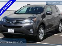 2015 Toyota RAV4 Limited Magnetic Gray Metallic New