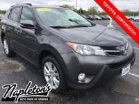 Recent Arrival! Certified. 2015 Toyota RAV4 in Magnetic