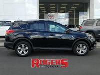 This Toyota RAV4 is a manufacturer certified pre-owned