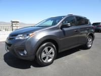 Our great looking 2015 AWD Toyota RAV4 XLE AWD shown