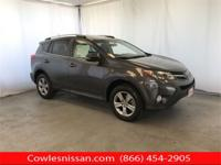 CARFAX One-Owner. Gray 2015 Toyota RAV4 XLE AWD 6-Speed