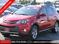 **TOYOTA CERTIFIED** **1 OWNER** **SUNROOF** **AWD**