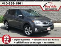 All Wheel Drive, RAV4 XLE with Gas Saving 2.5L