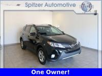 Toyota RAV4 XLE CARFAX One-Owner. Toyota Certified,