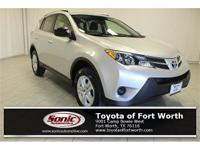 NON-SMOKER, ONE OWNER! This Rav4 LE comes LOADED and is
