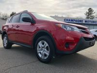 One owner 2015 Toyota RAV4 LE 4wd with only 26,000