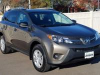 2015 Toyota RAV4 LE Brown AWD 2.5L 4-Cylinder DOHC Dual