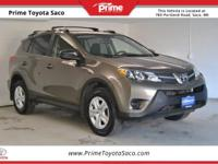CARFAX One-Owner! 2015 Toyota RAV4 LE in Pyrite Mica!