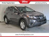 Toyota Certified! 2015 Toyota RAV4 LE in Magnetic Gray