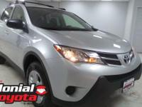 2015 Toyota RAV4 LE Certified. 29/22 Highway/City MPG