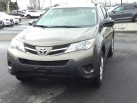 Recent Arrival! AWD, Cloth. 2015 Toyota RAV4 LE Clean