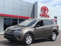 CARFAX One-Owner. Certified. Tan 2015 Toyota RAV4 LE