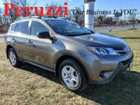 CARFAX One-Owner. Brown 2015 Toyota RAV4 LE AWD 6-Speed