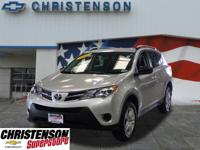 2015 Toyota RAV4 LE in Classic Silver Metallic for sale