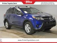 CARFAX One-Owner! Toyota Certified! 2015 Toyota RAV4 LE