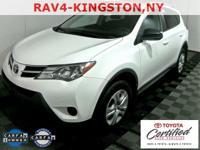 RAV4 LE, 4D Sport Utility, Super White, ABS brakes, Air