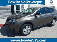 **AWD/4-MOTION/ 4X4** and **ONE-OWNER CARFAX**. RAV4