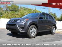 2015 Toyota RAV4 LE AWD, *** 1 OWNER *** CLEAN VEHICLE