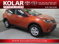 RAV4 LE, Local Trade-in, and Local Lease Return. Your