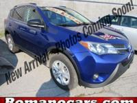 A 2015 toyota rav4 with less than 20,000 miles on it!