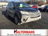 Gray 2015 Toyota RAV4 LE FWD 6-Speed Automatic 2.5L