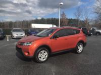 Hot Lava 2015 Toyota RAV4 LE FWD 6-Speed Automatic 2.5L