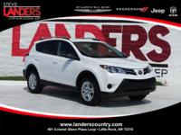 Clean CARFAX. 2015 Toyota RAV4 LE FWD 6-Speed Automatic