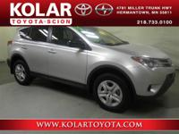 2015 Toyota RAV4 LERAV4 LE, FWD, Ash Cloth, ONE Owner