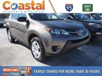 This 2015 Toyota RAV4 LE in features: FWD Clean CARFAX.