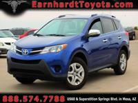 We are excited to offer you this CERTIFIED 2015 TOYOTA