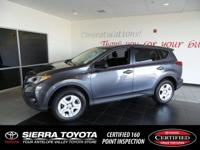 Look at this certified 2015 Toyota RAV4 LE. Its