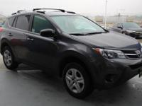 CARFAX 1-Owner, Excellent Condition. EPA 31 MPG Hwy/24