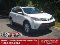 New 2015 Toyota RAV4 Limited. Standard features