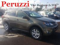 CARFAX One-Owner. Clean CARFAX. Brown 2015 Toyota RAV4