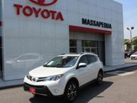 Certified. Wh 2015 Toyota RAV4 Limited AWD 6-Speed