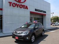 Certified. Gy 2015 Toyota RAV4 Limited AWD 6-Speed