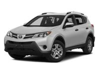 Certified. Black 2015 Toyota RAV4 Limited AWD 6-Speed
