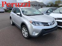 Clean CARFAX. 2015 Toyota RAV4 Limited AWD 6-Speed