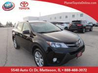 Recent Arrival! 2015 Toyota RAV4 Limited Black Toyota