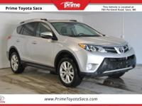 CARFAX One-Owner! Toyota Certified!, 2015 Toyota RAV4