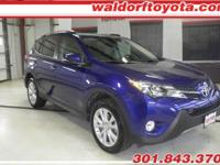 2015 Toyota Rav4 Limited w/ 18,170 miles!  A clean