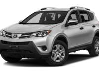 Options:  2015 Toyota Rav4 Limited|Premium Audio With
