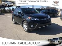 CARFAX One-Owner. Clean CARFAX. Black 2015 Toyota RAV4