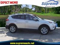 2015 Toyota RAV4 Limited  in Silver, CERTIFIED, Leather