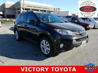 2015 Toyota RAV4 Limited in Black starred featured