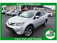 This 2015 Toyota RAV4 4dr AWD XLE features a 2.5L L4 FI
