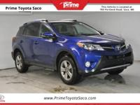 CARFAX One-Owner! Toyota Certified! 2015 Toyota RAV4