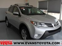 CARFAX One-Owner. Clean CARFAX. SILVER 2015 Toyota RAV4