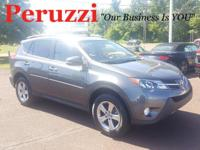 CARFAX One-Owner. Clean CARFAX. Gray 2015 Toyota RAV4