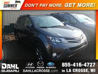 2015 Toyota RAV4 XLE AWD CARFAX One-Owner. *SUNROOF /